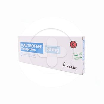Kaltrofen Tablet adalah obat untuk radang sendi (artritis reumatoid).