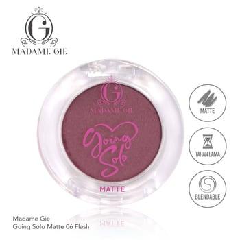 Madame Gie Going Solo Matte Pressed Eyeshadow 06 - Flash harga terbaik 16000