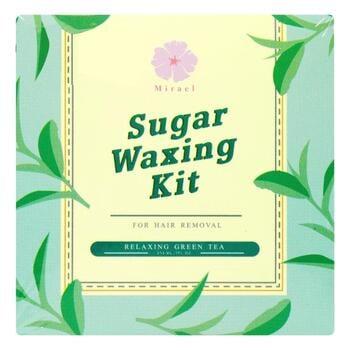Mirael Sugar Waxing Kit Green Tea 210 ml harga terbaik 95000