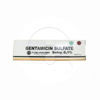 Gentamicin First Medifarma Salep 0.1% -  5 g harga terbaik