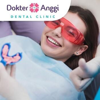 Bleaching Pure Whitening, APD , Konsultasi di Dokter Anggi Dental Clinic, Depok