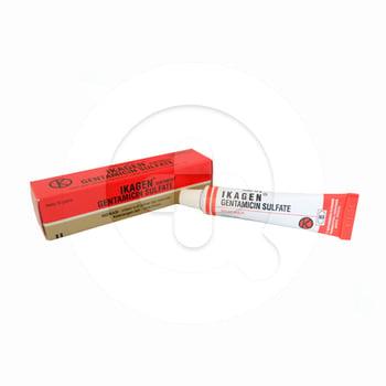 Ikagen salep 10 g  untuk mengatasi infeksi kulit primer dan sekunder.