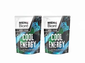 MEN'S BIORE Body Foam Cool Energy Pouch 450 mL Twinpack harga terbaik 42000