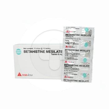 Betahistine Mesilate OGB Dexa Medica Tablet 6 mg  harga terbaik