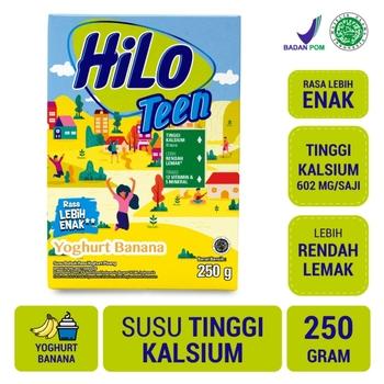 HiLo Teen Yoghurt Banana 250 g harga terbaik 44200