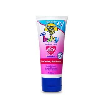 Banana Boat Baby Tear Free Sunscreen Lotion SPF50 90 ml harga terbaik 183700