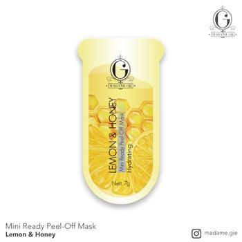 Madame Gie Mini Ready Peel Off Mask Lemon & Honey harga terbaik 3000