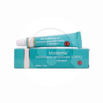 Kloderma salep adalah obat untuk terapi jangka pendek dalam mengatasi peradangan pada kulit