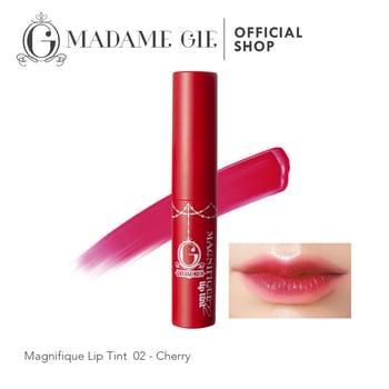 Madame Gie Magnifique Lip Tint 02 - Cherry harga terbaik 23000