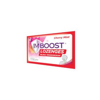 Imboost Lozenges Cherry Mint  harga terbaik 9753