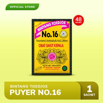 Bintang Toedjoe Puyer No.16 4 Pack  harga terbaik 52800