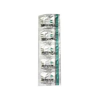 Antalgin Tablet adalah obat yang mengandung  natrium metamizole 500 mg.