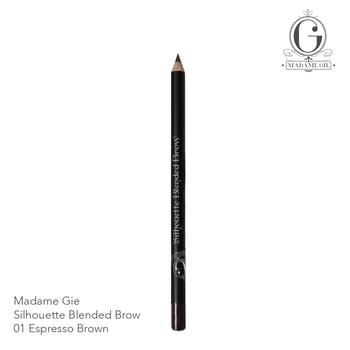 Madame Gie Silhouette Blended Brow 01 Espresso Brown harga terbaik 8000