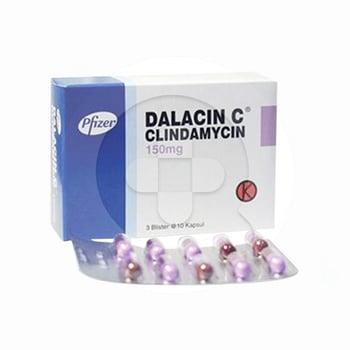 Dalacin C Kapsul 150 mg  harga terbaik