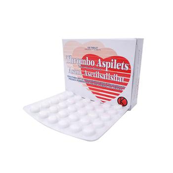 Thrombo Aspilets Tablet adalah obat untuk mengurangi risiko penggumpalan darah atau trombosis koroner lebih lanjut selama fase pemulihan dari serangan jantung