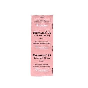 Farmoten tablet adalah obat untuk menurunkan tekanan darah tinggi atau hipertensi