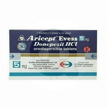 Aricept Evess Tablet 5 mg  harga terbaik