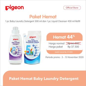 Pigeon Paket Hemat Laundry Detergent - Free LCB 450 ml harga terbaik