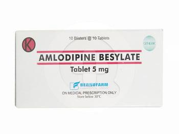 Amlodipine Bernofarm Tablet 5 mg  harga terbaik 30024