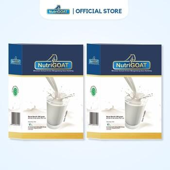 Susu Kambing Etawa NutriGOAT Susu Kambing Bernutrisi 200 g  harga terbaik 79000