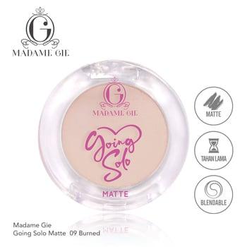 Madame Gie Going Solo Matte Pressed Eyeshadow 09 - Burned harga terbaik 16000