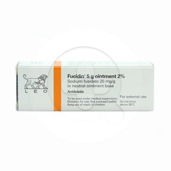 Fucidin salep adalah obat untuk infeksi kulit yang disebabkan oleh bakteri