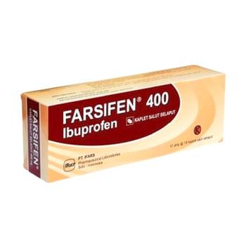 Farsifen kaplet adalah obat untuk membantu menurunkan demam dan meredakan nyeri ringan hingga sedang
