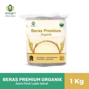 Asagri Beras Premium Organik 1 Kg harga terbaik 22000