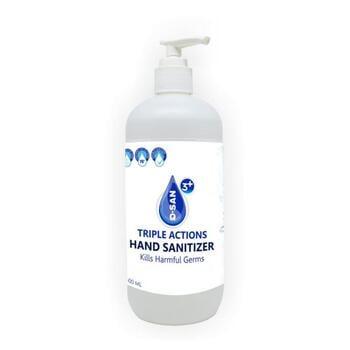 Q-San 3 Plus - Triple Acions Hand Sanitizer 500 ml harga terbaik 81500