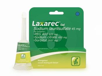 Laxarec Gel 45 mg/5 mL - 5 mL harga terbaik 23800