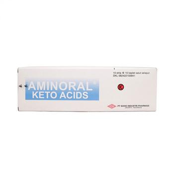 Aminoral Tablet adalah obat untuk pasien dengan kondisi insufisiensi ginjal kronik.