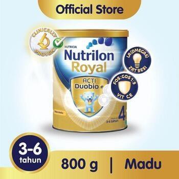 Susu formula Nutrilon Royal 4 Susu Pertumbuhan 3-6 Tahun Vanila 800 g