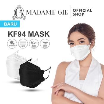 jenis masker Madame Gie Protect You KF94 Mask Isi 10 Pcs – Hitam