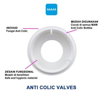 MAM Anti Colic Valves - Katup Botol Bayi - 2 Pcs  harga terbaik 51322