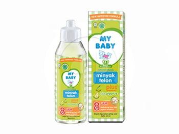 My Baby Minyak Telon Plus Eucalyptus 8 Jam 57 ml harga terbaik 18415