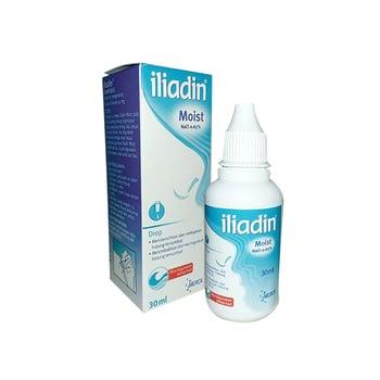 Iliadin moist digunakan untuk membersihkan dan melegakan hidung tersumbat akibat flu dan alergi