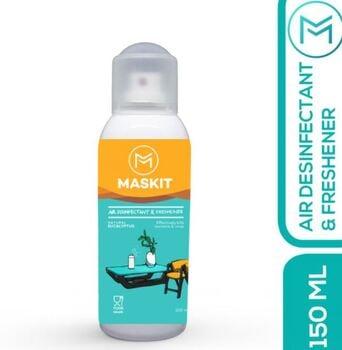 Maskit Disinfectant Spray Aerosol Food Grade Eucalyptus 150 ml