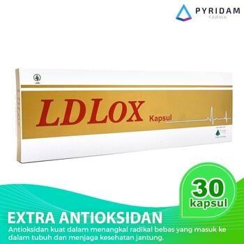 LDLOX Hydroxytyrosol 10% Kapsul (3 Strip @ 10 Kapsul) - Suplemen Antioksidan