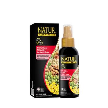 Natur Hair Vit Olive Oil Vit E 80 mL