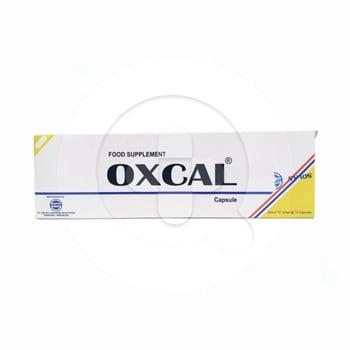 Oxcal kapsul merupakan suplementasi kalsium.