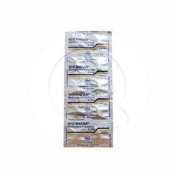 Rhemafar Kaplet 4 mg | Manfaat dan Indikasi Obat, Dosis, Efek Samping