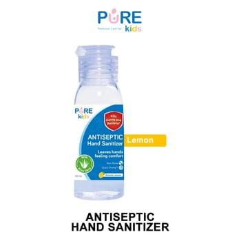 Pure Kids Antiseptic Hand Sanitizer Lemon 50 ml harga terbaik 9902