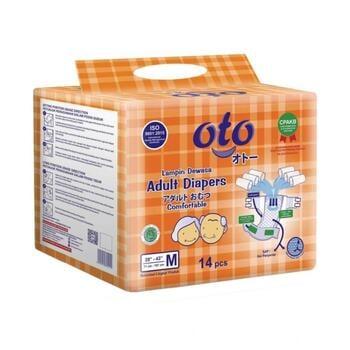 OTO Adult Diapers / Popok Dewasa Model Perekat - M  harga terbaik 70000