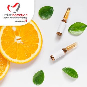 Injeksi vitamin c di klinik dan lab telekomedika, jakarta selatan, medan, lampung, bandung seharga Rp 250.000