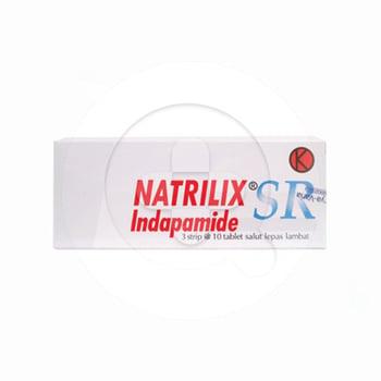 Natrilix SR tablet adalah obat untuk mengatasi penyakit tekanan darah tinggi yang tidak diketahui penyebabnya