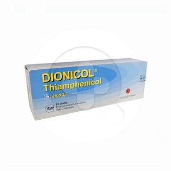 Dionicol kaplet 500 mg adalah obat yang digunakan untuk pengobatan infeksi bakteri.