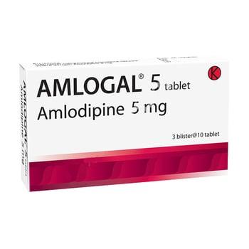 Amlogal tablet digunakan untuk pengobatan tekanan darah tinggi (hipertensi),  kondisi yang menyebabkan aliran oksigen ke jantung berkurang hingga berisiko serangan jantung (iskemia miokard) dan nyeri dada (angina).