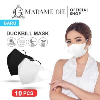 masker duckbill Madame Gie Protect You Duckbill Face Mask Isi 10 pcs – Hitam