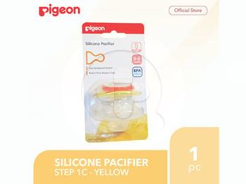 Pigeon Silicone Pacifier Step 1C - Yellow harga terbaik 33500