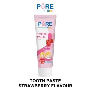 Pure Kids Tooth Paste Strawberry Flavour 50 g harga terbaik 28512
